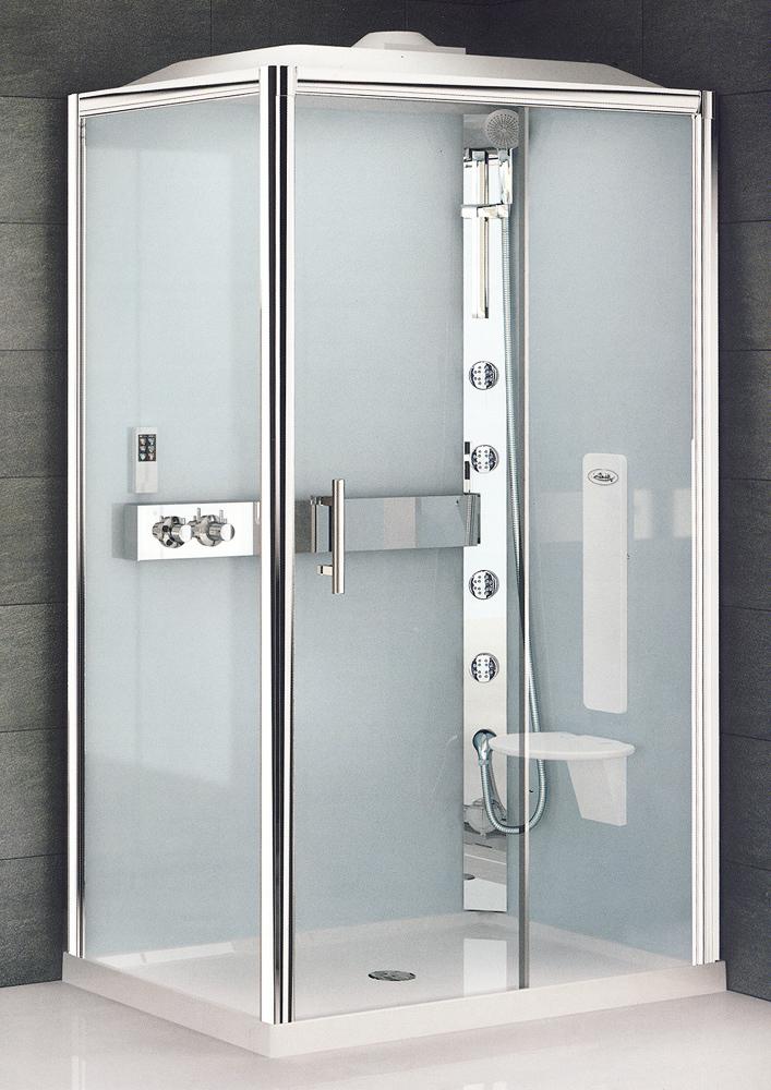 Anatomia di una cabina doccia arredobagno news for Box doccia con idromassaggio