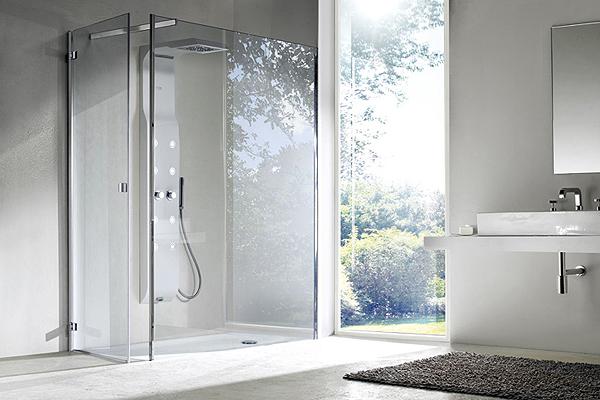 Cabine doccia hi tech enjoy arredobagno news - Piatto doccia incassato nel pavimento ...