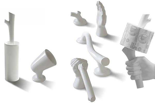 Accessori che strizzano l 39 occhio all 39 arte arredobagno news for Accessori bagno ceramica