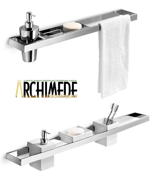 Arredobagno elegante funzionale ed economico for Accessori per bagno