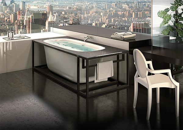 Glass lancia naked arredobagno news - Vasca da bagno in vetro ...