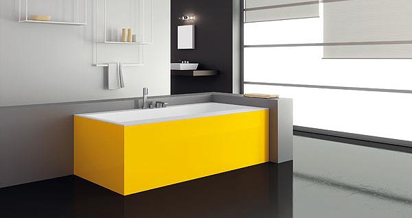Square design per teuco vasche paper arredobagno news - Vernici per vasche da bagno ...