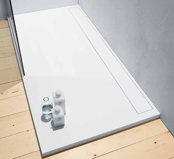 Gal presenta il nuovo piatto doccia dl1 arredobagno news - Dimensioni doccia standard ...