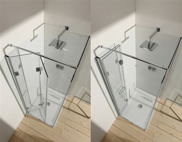 Da gal small il box doccia pieghevole per piccoli spazi - Porta doccia pieghevole ...