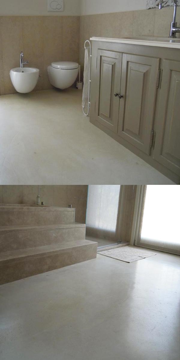 Surface il pavimento bello per il bagno perfetto per la for Il piano casa perfetto