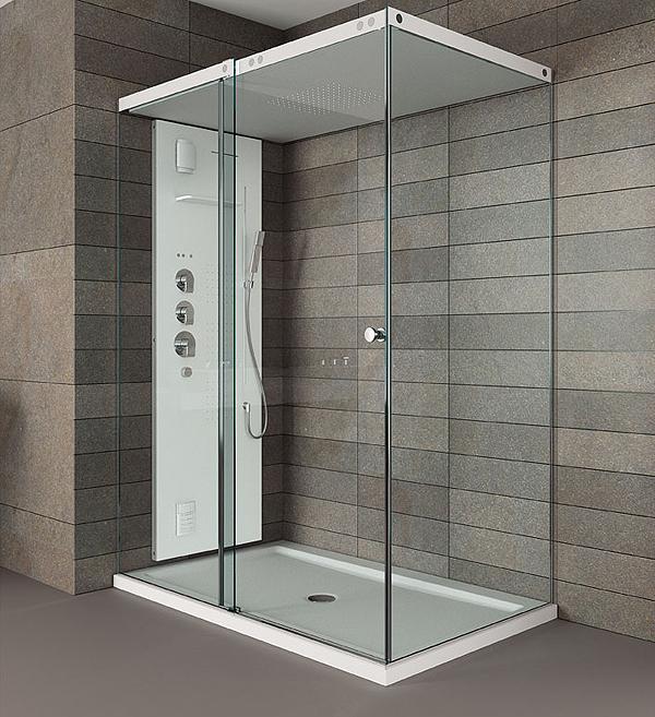 Il nuovo box doccia light della teuco arredobagno news for Disegni base della cabina
