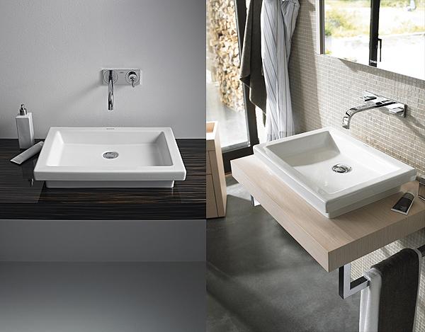 Duravit italia nd floor lavabo lavabo da appoggio