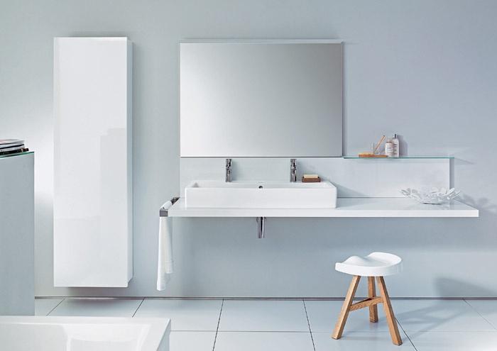 ... per questa evoluzione nuovi parametri: la serie di mobili per il bagno