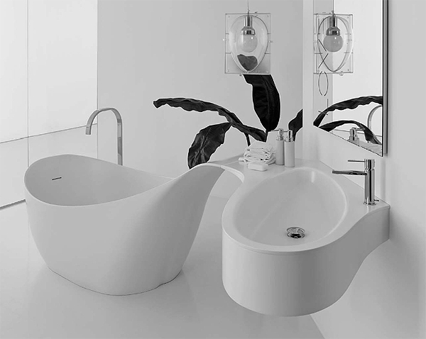 Vasca Da Bagno Con Lavabo : Novello love alternative bathroom arredobagno news