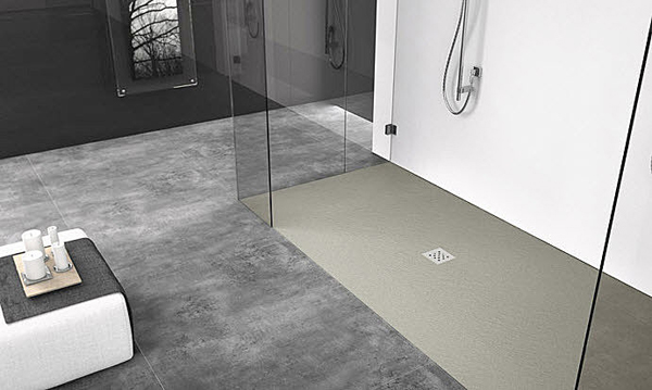Elax il primo piatto doccia filo pavimento elastico - Piatti doccia particolari ...