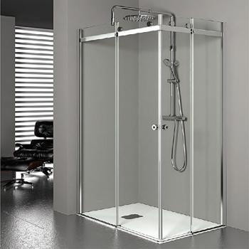 Grandform shower box doccia personalizzabile e modulare arredobagno news - Box doccia globo ...