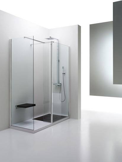Angolo doccia polifunzionale thermomat arredobagno news - Box doccia anziani ...