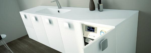 Vario40 la soluzione per gli spazi angusti arredobagno news - Lavatrice in bagno soluzioni ...