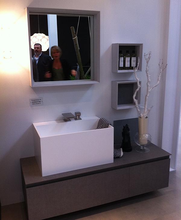 Cersaie 2012: le novità di puntotre serie mobili bagno time young ...