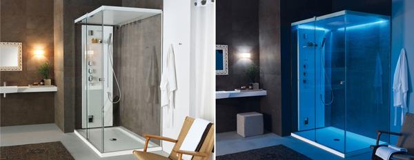 Teuco l estetica di un box doccia il benessere di un - Box doccia multifunzione ikea ...