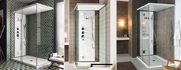 Teuco l estetica di un box doccia il benessere di un - Cabine doccia teuco ...