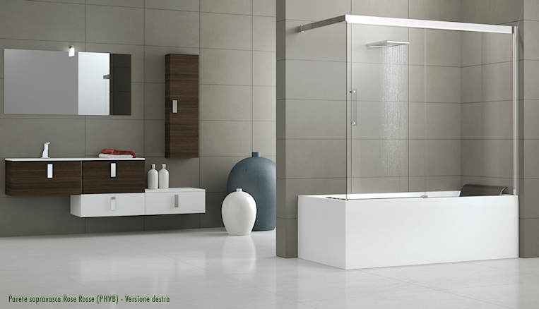 Novellini serie rose rosse arredobagno news - Vernici per vasche da bagno ...