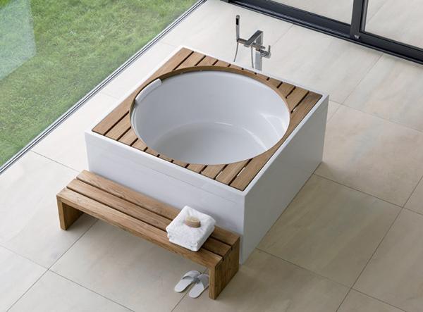 Dal sogno alla realt vasca da bagno blu moon duravit arredobagno news - Vasche da bagno quadrate ...