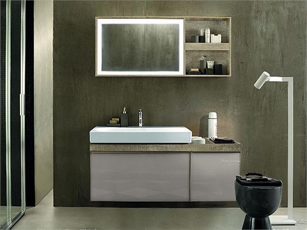 Citterio la nuova collezione da bagno di pozzi ginori arredobagno news - Mobiles badezimmer ...