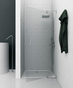 GAL presenta PIVOT: il box doccia su misura con apertura a bilico