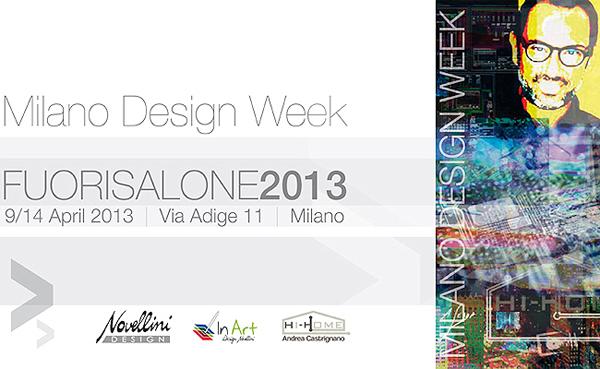 Novellini parteciperà al Fuori Salone - Salone del Mobile 2013 MI dal 9 al 14 aprile