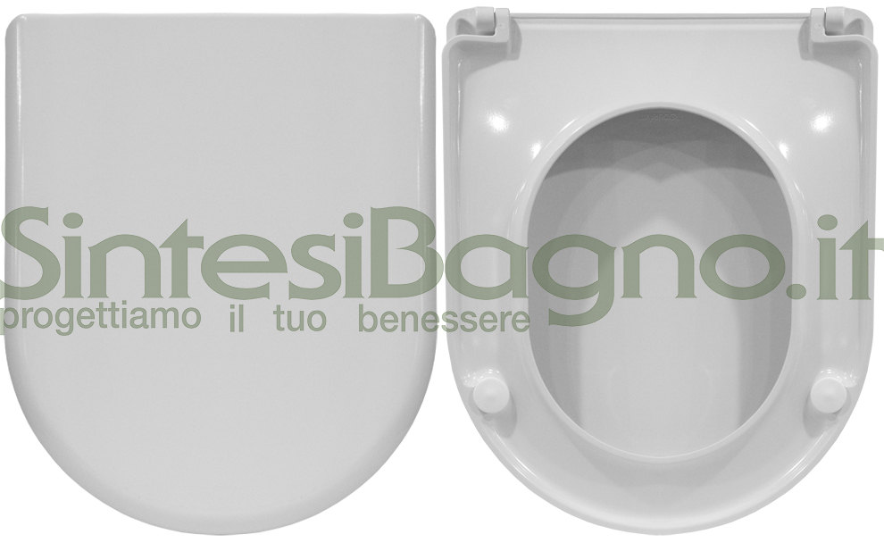 ORIGINAL toilet seat made of thermosetting resin, for the series Starck 2 DURAVIT toilet