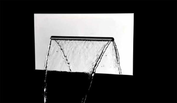 Soffione per doccia ad incasso in acciao inox