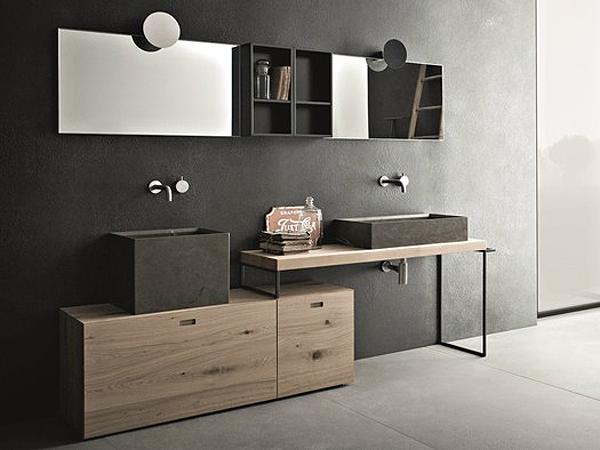 Anteprima cersaie 2013 la nuova collezione bagno novello arredobagno news - Bagno legno e pietra ...