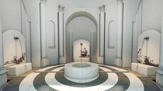Philippe Daverio e Jacopo Muzio, Il bagno immaginato