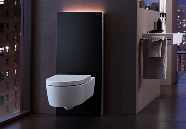 geberit monolith plus high tech in bagno arredobagno news. Black Bedroom Furniture Sets. Home Design Ideas