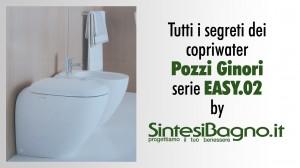 Confronto copriwater ORIGINALE vs DEDICATO Pozzi Ginori Easy 2