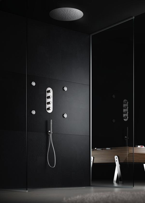 Nobili rubinetterie miscelatori termostatici per la doccia con valvola on off arredobagno news - Nobili rubinetterie bagno ...