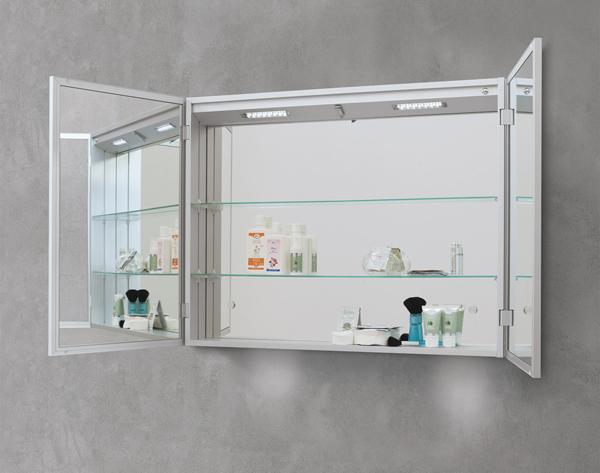 Specchiere vanita 39 casa lo spazio trovato arredobagno news - Specchio contenitore per bagno ...