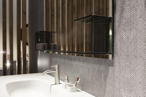 Rexa design fibra un nuovo rivestimento per for Rivestimento bagno adesivo