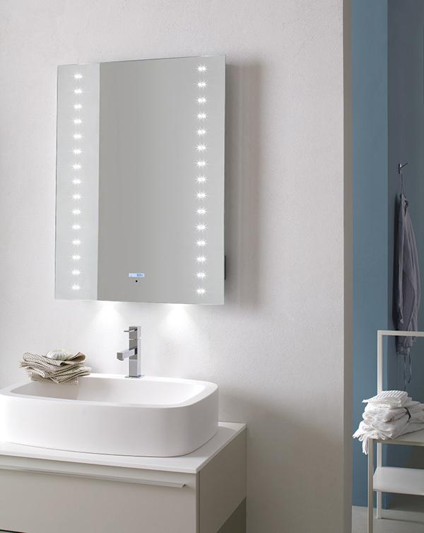ANDROMEDA | Specchiera bagno LED