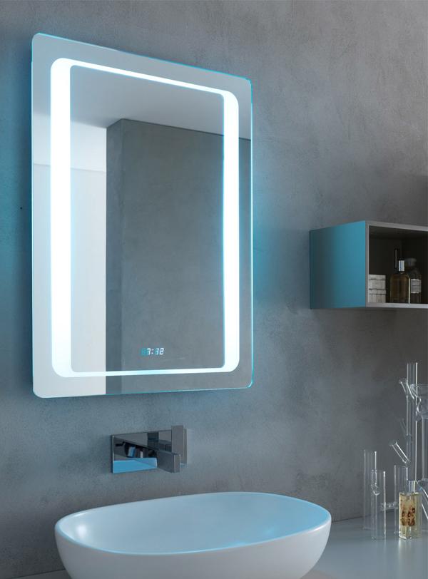 Specchiere Bagno LED, retroilluminate LED, specchiere contenitore LED