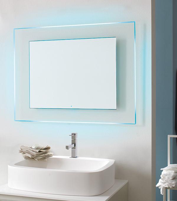 BOREALE | Specchiera bagno retroilluminata LED