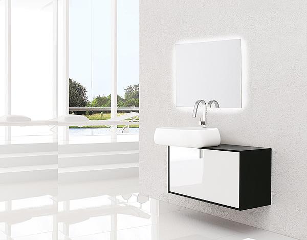 GALAXY | Specchiera bagno retroilluminata LED