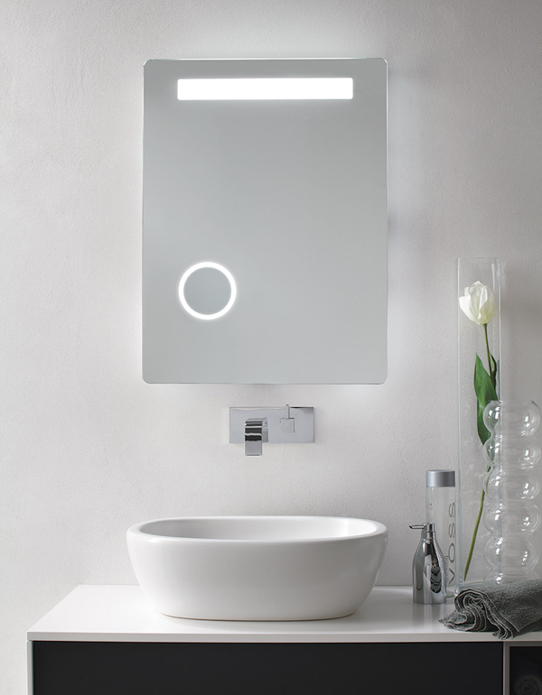 LYBRA | Specchiera bagno retroilluminata LED
