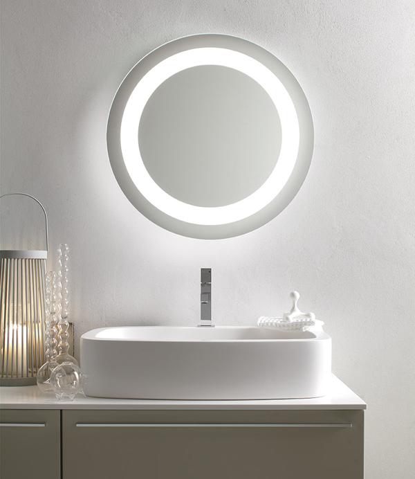 ORION | Specchiera bagno retroilluminata LED