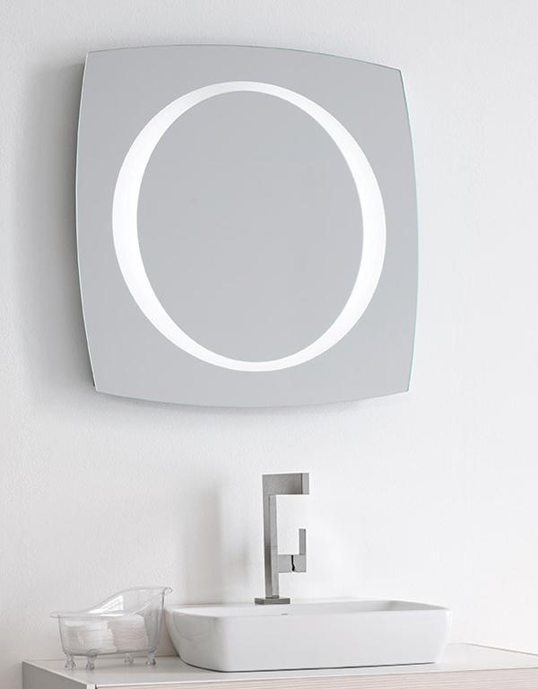 SIRIUS | Specchiera bagno retroilluminata LED