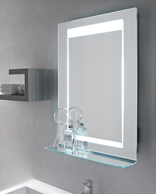 Specchiere bagno led retroilluminate led specchiere for Specchiera bagno