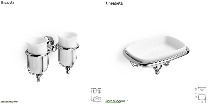 accessori bagno ad incollo - arredobagno news - Lineabeta Arredo Bagno