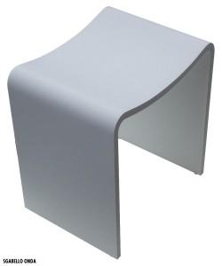 Accessori complementi bagno - Sgabello per bagno ...