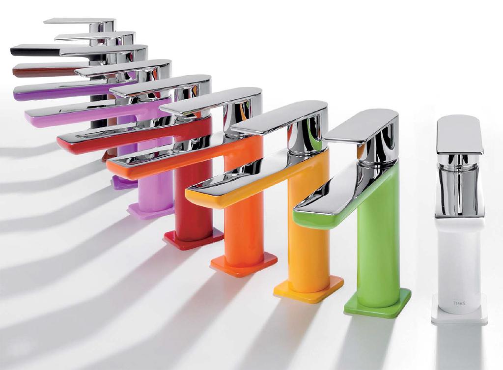 Tres rubinetterie serie LOFT COLORS