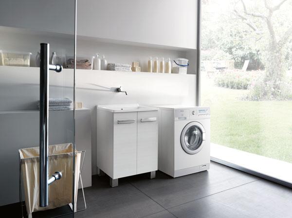 IL LAVATOIO SI FA BELLO! Soluzioni Colavene per arredare la lavanderia