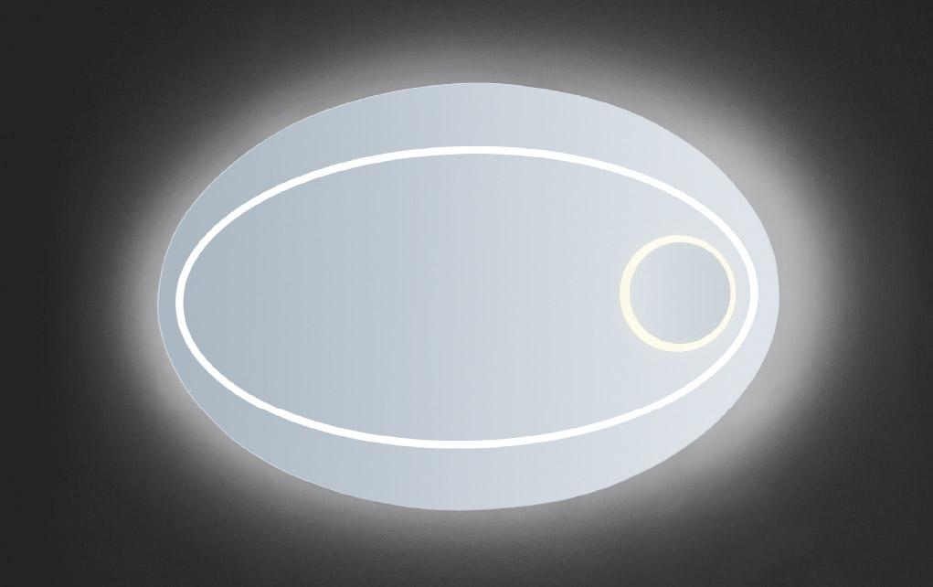 SATURNO specchiera retroilluminata LED