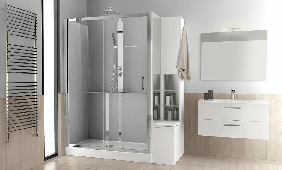 Trasforma la tua vasca in doccia con la soluzione for Un bagno in cabina