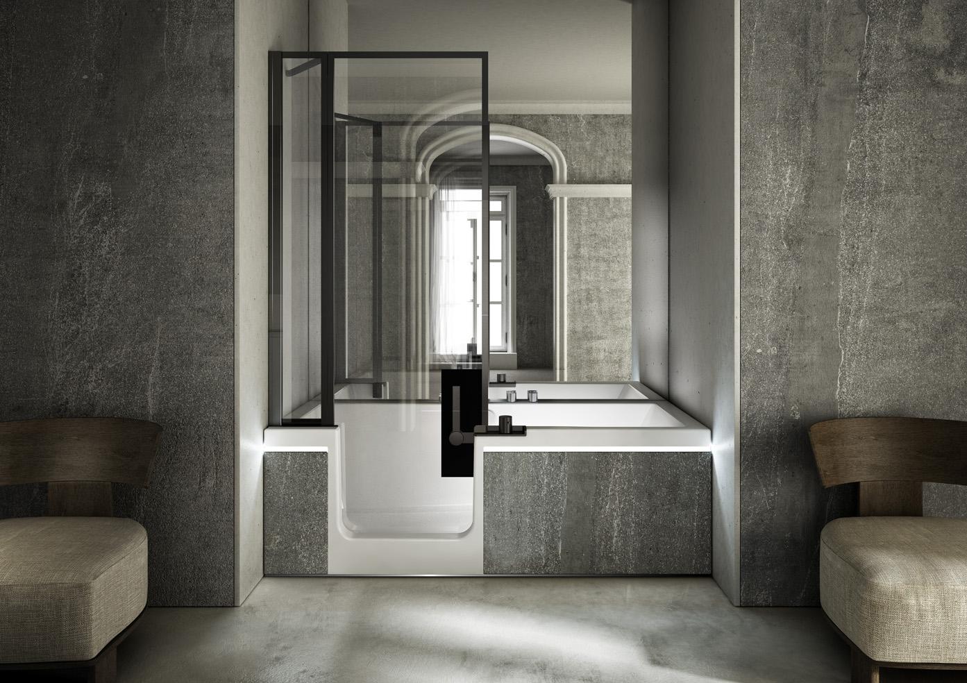 pr t porter il nuovo modello di design della linea di combinati teuco firmato da jean michel. Black Bedroom Furniture Sets. Home Design Ideas