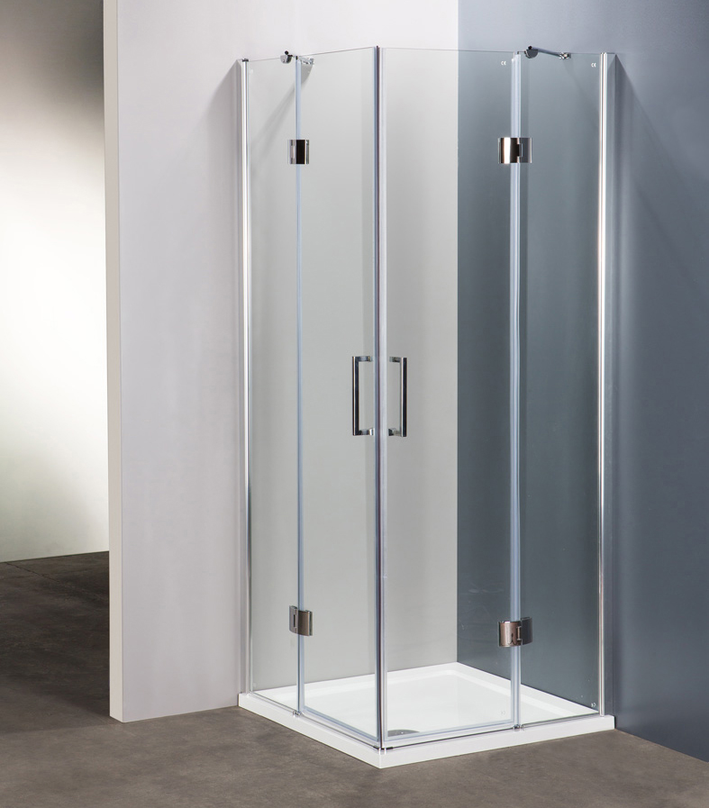 Innovazione e qualit per i box doccia ercos linea - Doccia senza porta ...